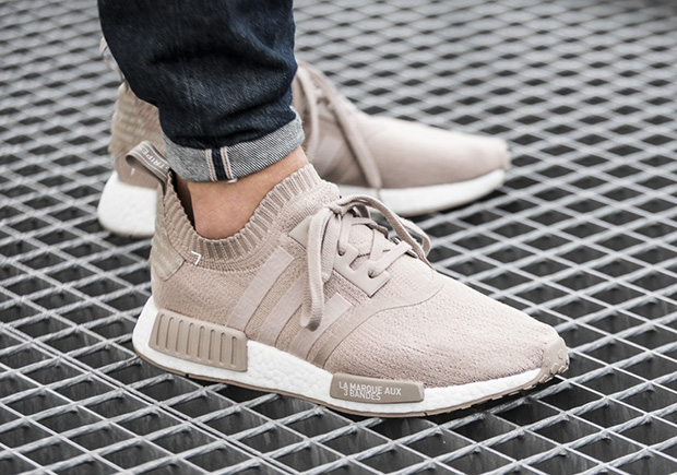 adidas nmd r1 primeknit french beige restocks this friday. Black Bedroom Furniture Sets. Home Design Ideas