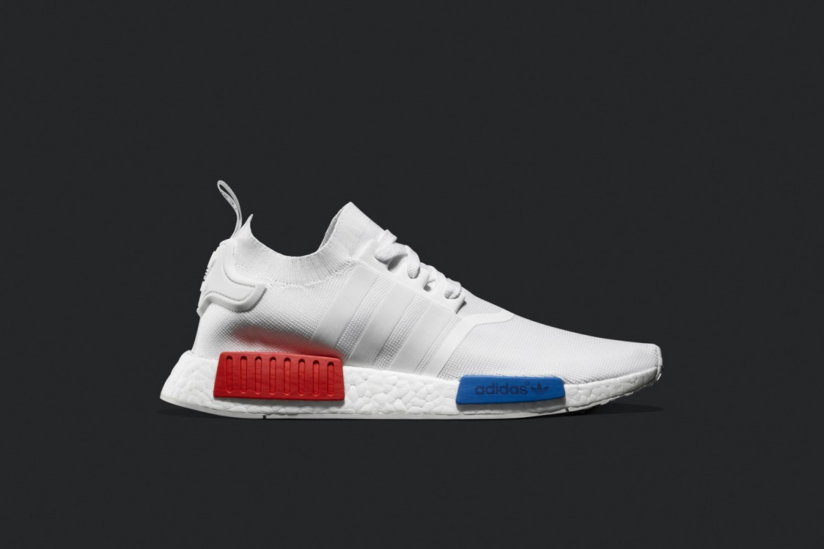 adidas originals nmd r1 white. Black Bedroom Furniture Sets. Home Design Ideas