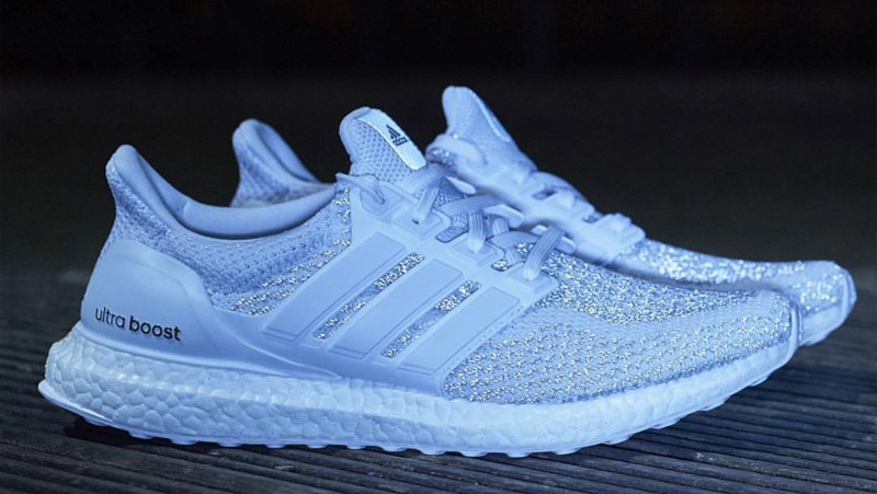 ultra boost 3m reflective white