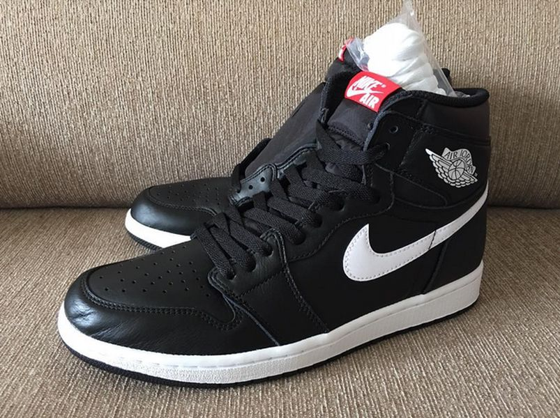 air jordan 1 black white