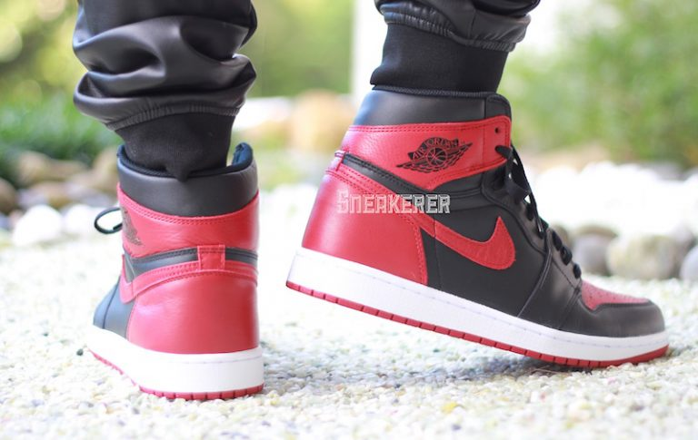air-jordan-1-bred-banned-2016-on-feet-3-768x485