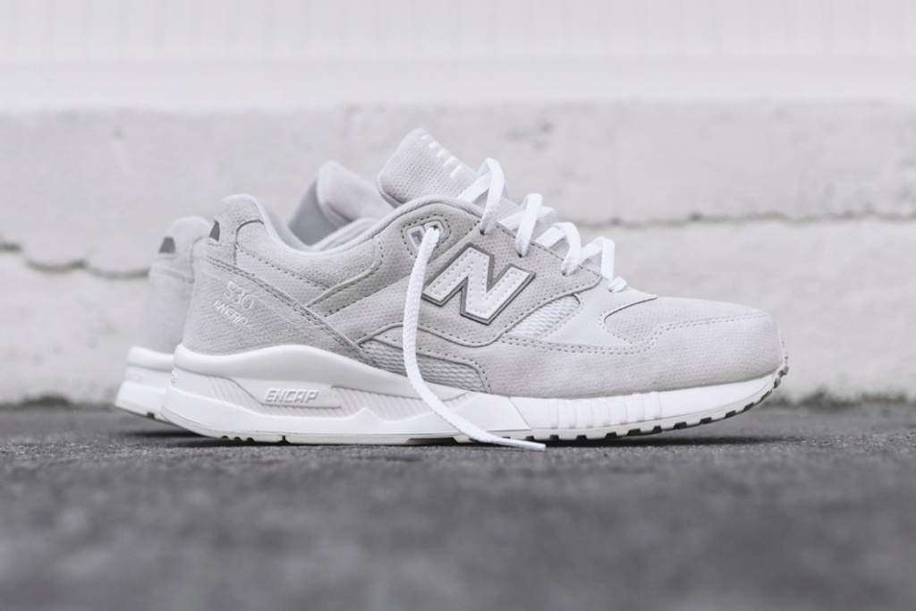 new balance 530 grey and white
