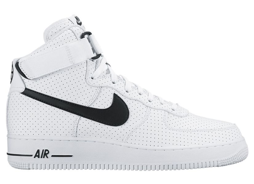 788229bc915 Nike Air Force 1 High 07 White Black