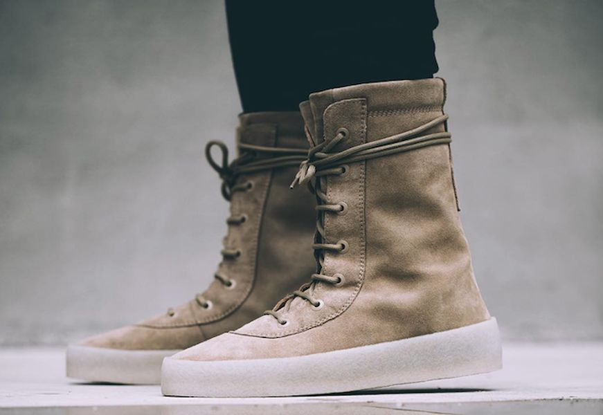 f3eff60195b53 yeezy-crepe-boot-on-foot-2. Kanye West ...
