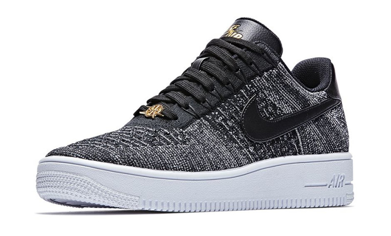 nike air force 1 flyknit oreo