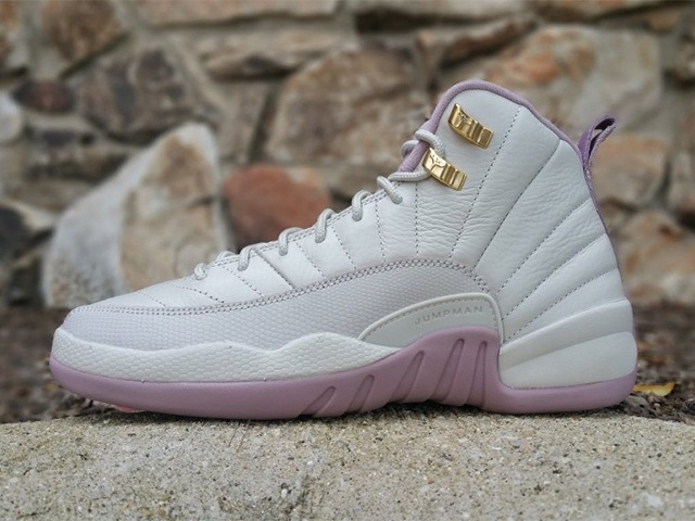 Air-Jordan-12-GS-Heiress-Plum-Fog-Light-Bone