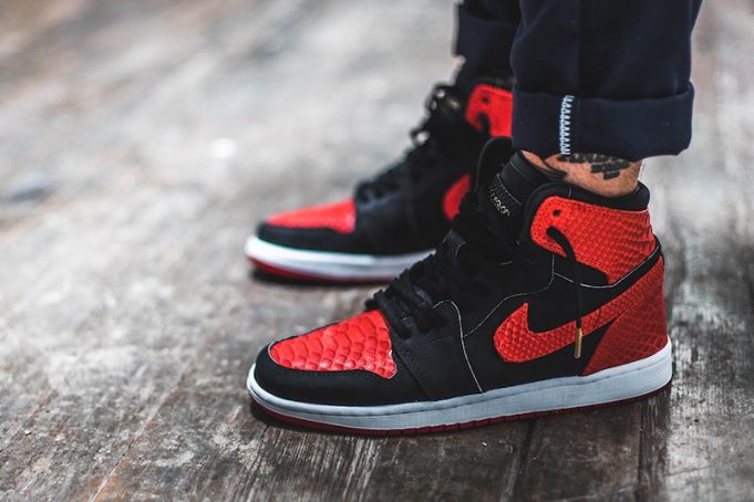 The-Shoe-Surgeon-Banned-Air-Jordan-1-Red-Python-1-681x454