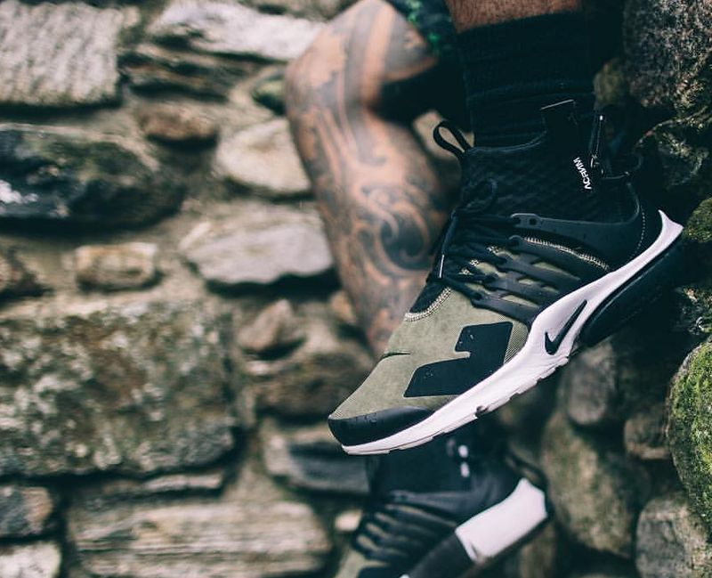d78ac10d Nike + Acronym Presto's in olive, said WTF when I first saw them and now I  want them! ...