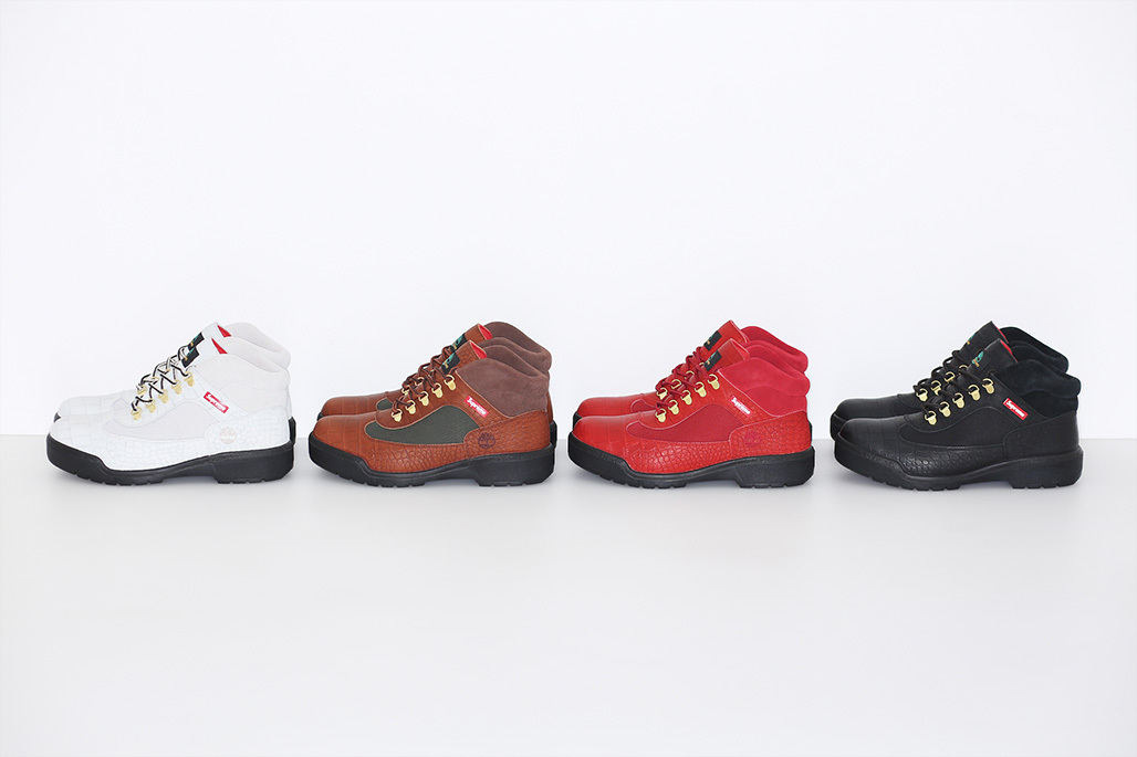 Supreme X Timberland 3 Eye Classic Lug And Field Boot Collection