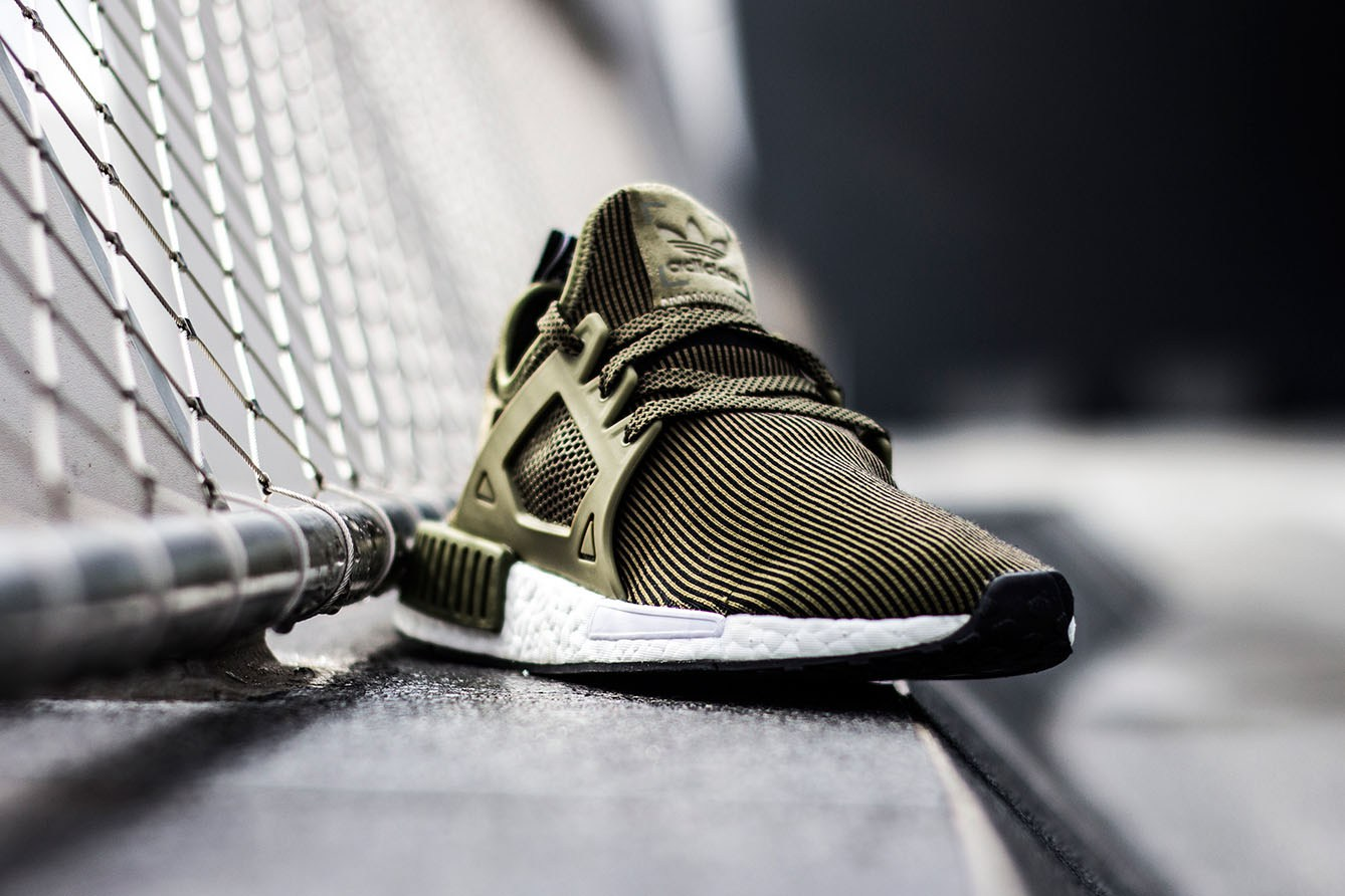 Adidas Men's and Women's Originals NMD XR1 DUCK CAMO White