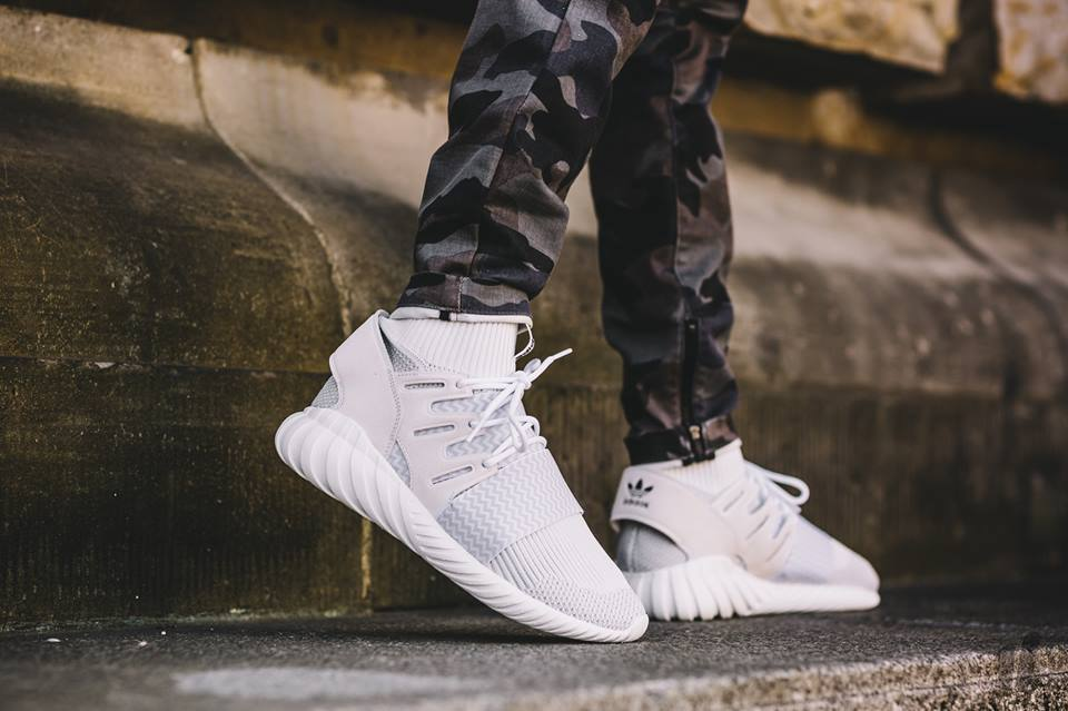 adidas Originals Tubular Doom Primeknit Heathered Grey
