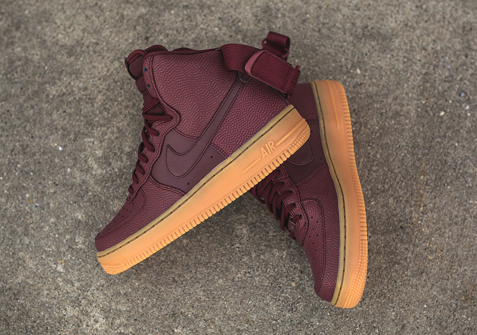 nike air force 1 high gum bottom