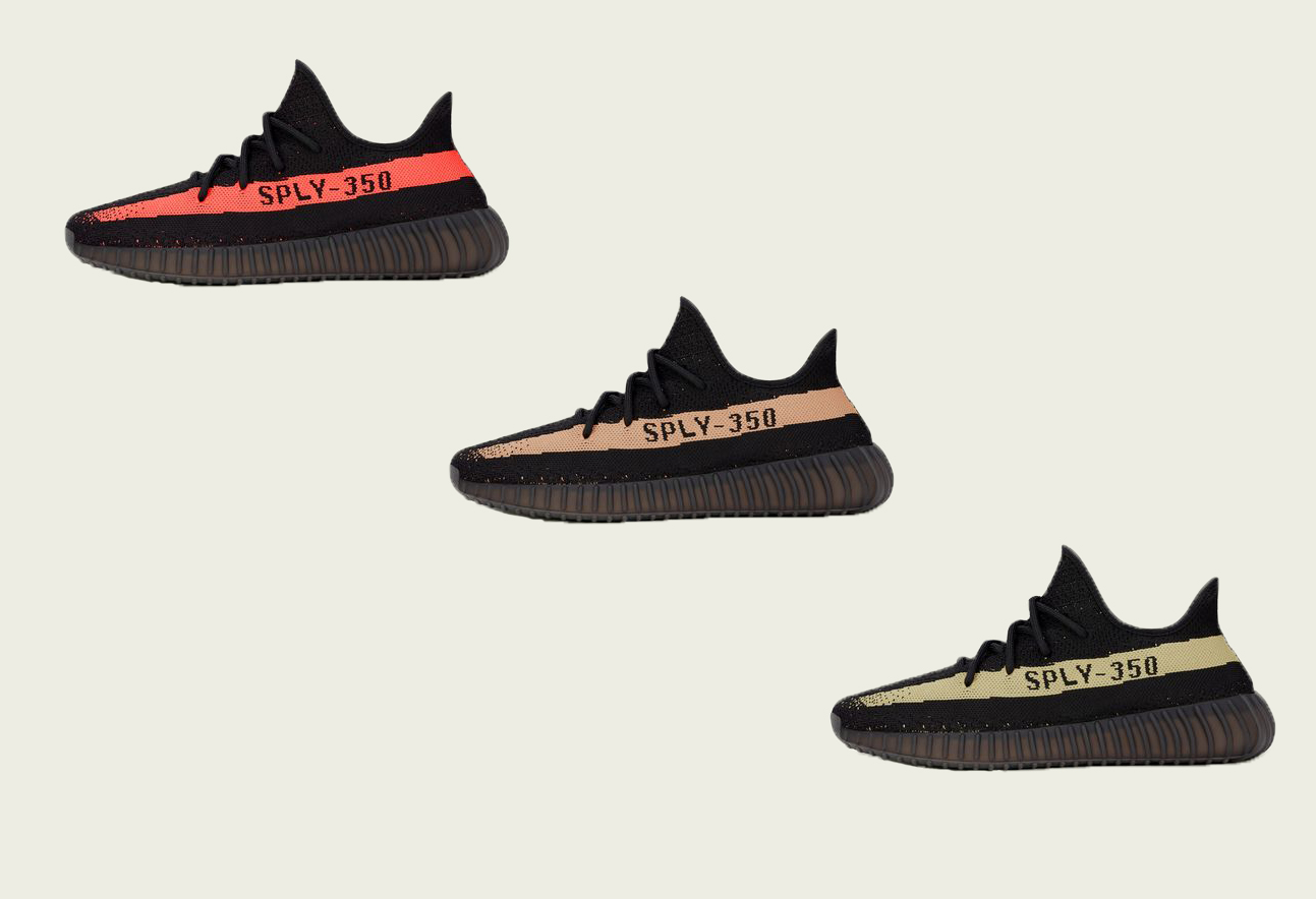 Adidas Unveils Three Yeezy Boost V2 Colorways for November 23rd