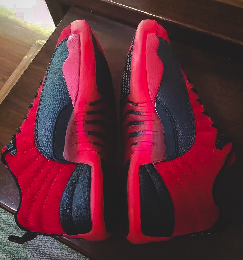 raging-bull-air-jordan-12-low-red-suede