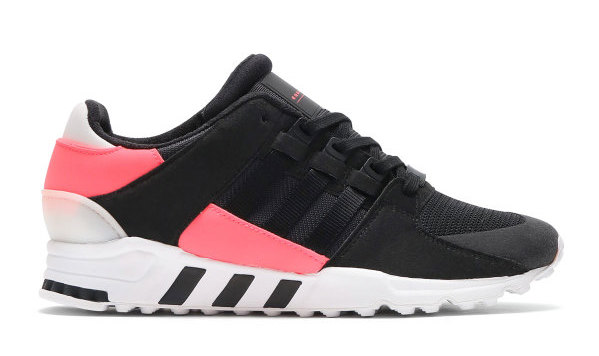 premium selection 555ed b2782 ... EQT Support RF silhouettes. Each will feature a unique take sporting  either black  white with hits of pink. Look out for these to roll out at  adidas ...