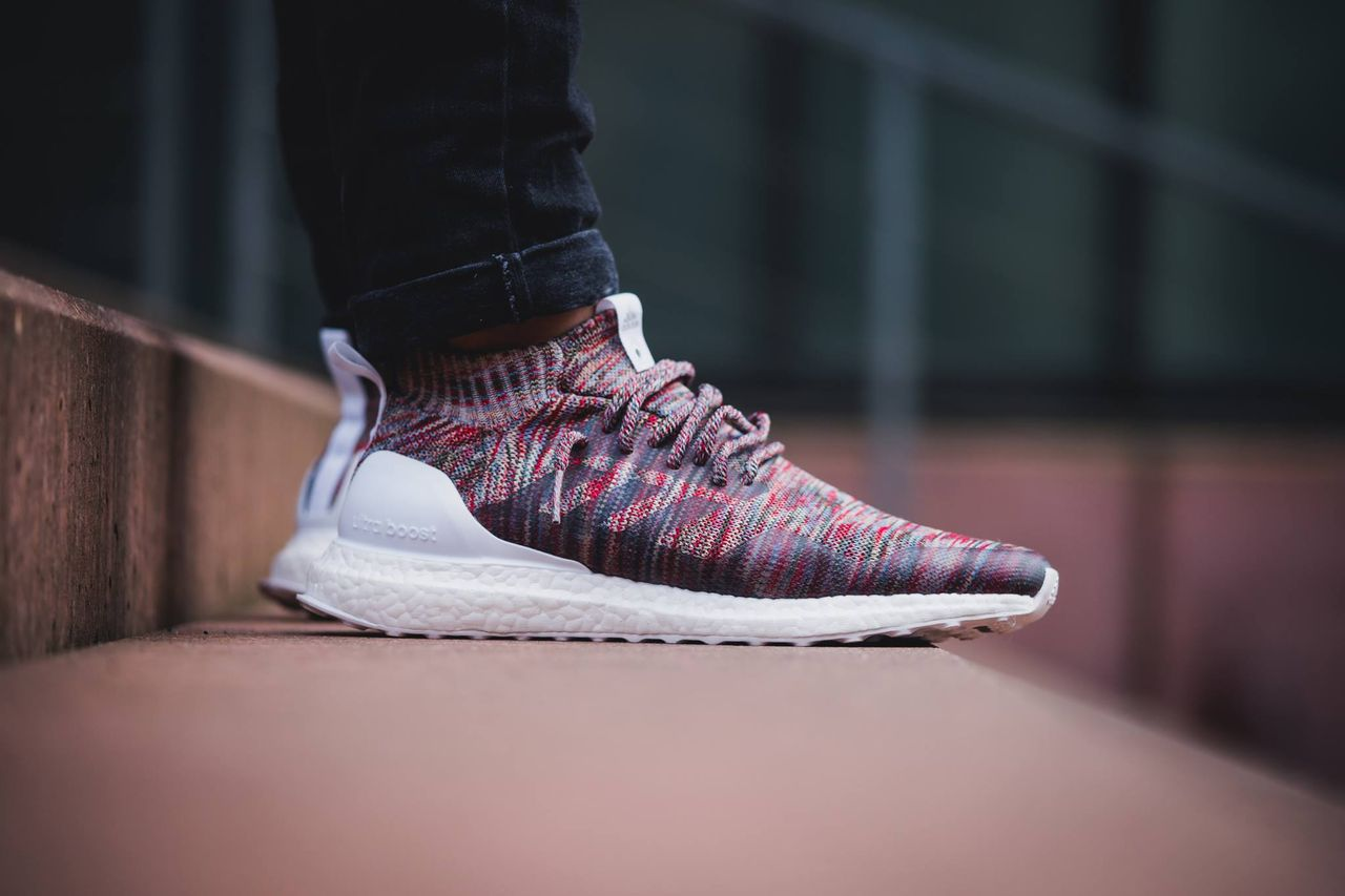 hot sale online 97981 62f2e Ronnie Fieg x Kith Adidas Ultra Boost Mid On Foot
