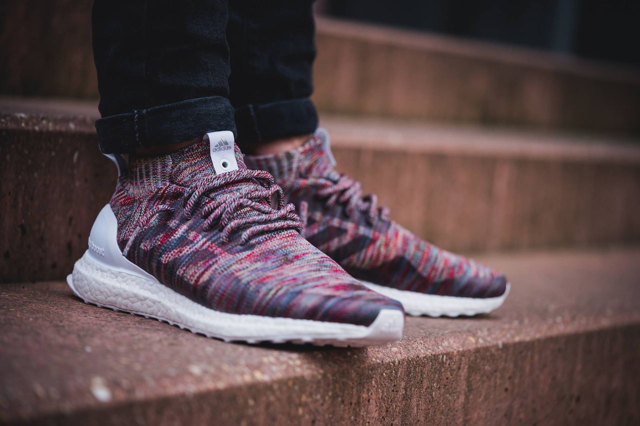 hot sale online 6694d d2011 Ronnie Fieg x Kith Adidas Ultra Boost Mid On Foot