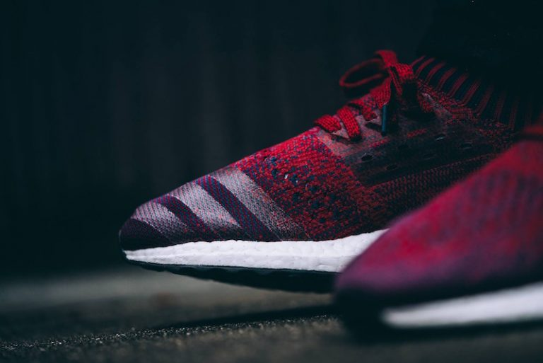 differently 19a79 68e26 Adidas Running unveils its latest Ultra Boost colorway featuring a Mystery  Red look. The entire UB is done up in a fire Mystery Red colorway, ...