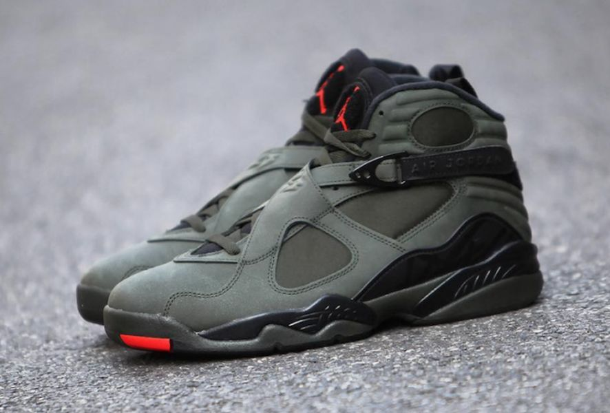 """pretty nice f5d85 f2a6d The Air Jordan 8 """"Sequioa"""" is an upcoming Air Jordan 8 colorway featuring  the same color combo as the UNDFTD palette. Although not an official Air  Jordan 8 ..."""
