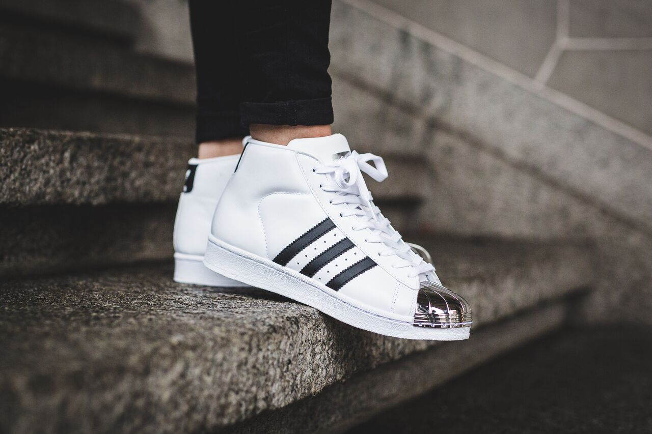quality design e1684 d96ce Adidas preps the Pro Model silhouette for a metal toe iteration this Winter  season. Using the original colorway of black and white, the three stripes  adds a ...