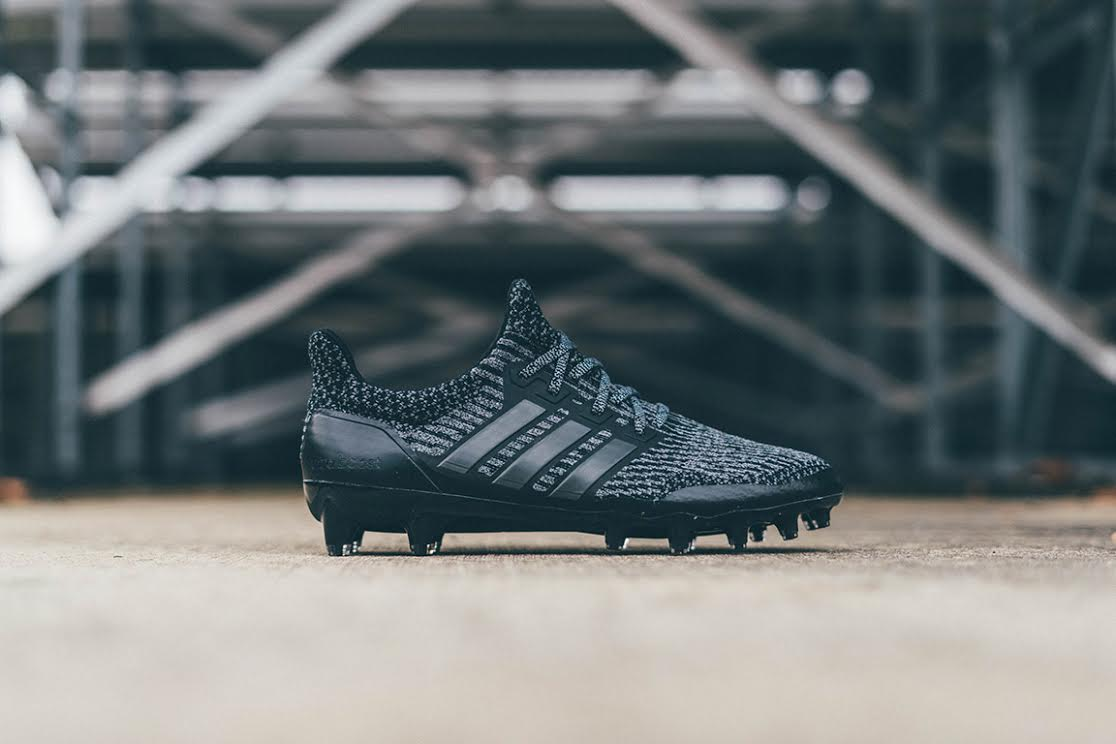 126e3a7d57e7c adidas today unveiled the limited edition triple black UltraBOOST Cleat. As  adidas continues to pioneer the fusion of sports and culture