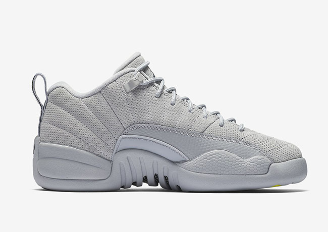 new product 71134 408c6 Air Jordan 12 Low Wolf Grey Armory Navy 308317-002. March 18, 2017