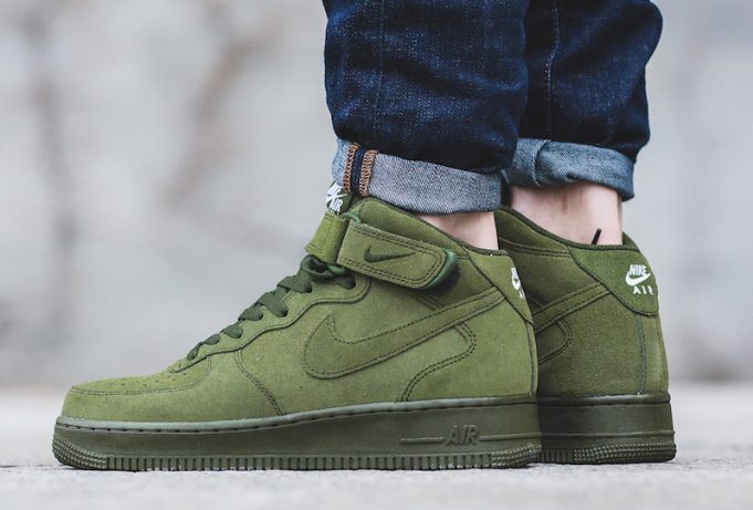 nike air force 1 verde