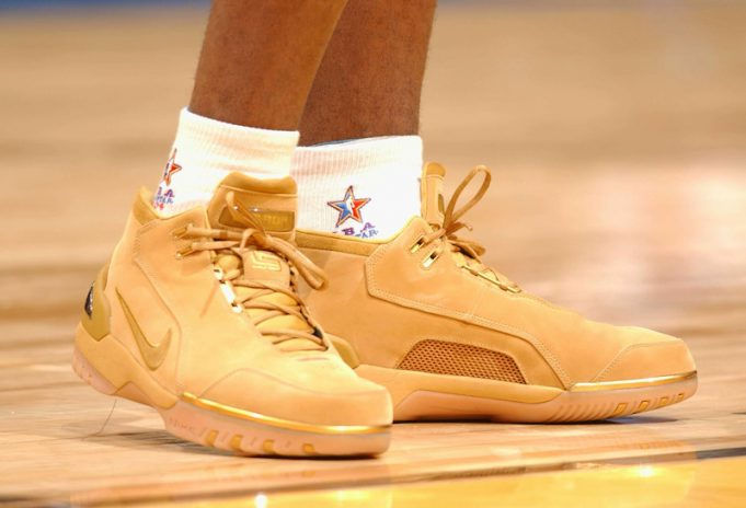 "4bd26d8e5bab7 The Nike Air Zoom Generation ""Wheat"" is now rumored to return All Star  Weekend. One of the most coveted colorways in the Nike Air Zoom Generation  series ..."