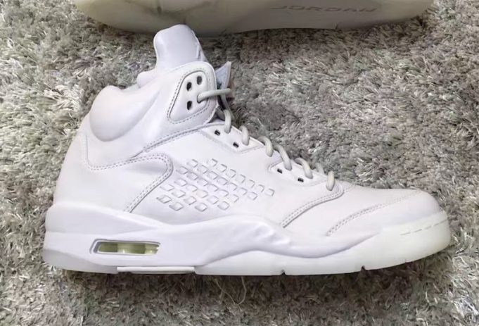 hot sales 42880 822f4 Jordan Brand will be releasing an all white iteration of the Air Jordan 5  Take Flight later this year. Following the success of the Sequoia pair, ...