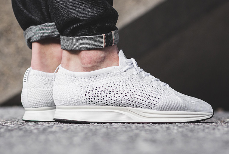 finest selection da7ca 476f2 Update  Here s a closer look at the upcoming Nike Godess Flyknit Racer on  foot via Titolo.