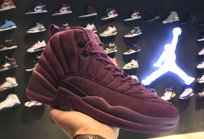 49b0ecd1333 Public School NYC will be collaborating with Jordan Brand on an Air Jordan  12 featuring a Bordeaux colorway this summer. The Air Jordan 12 will  feature a ...
