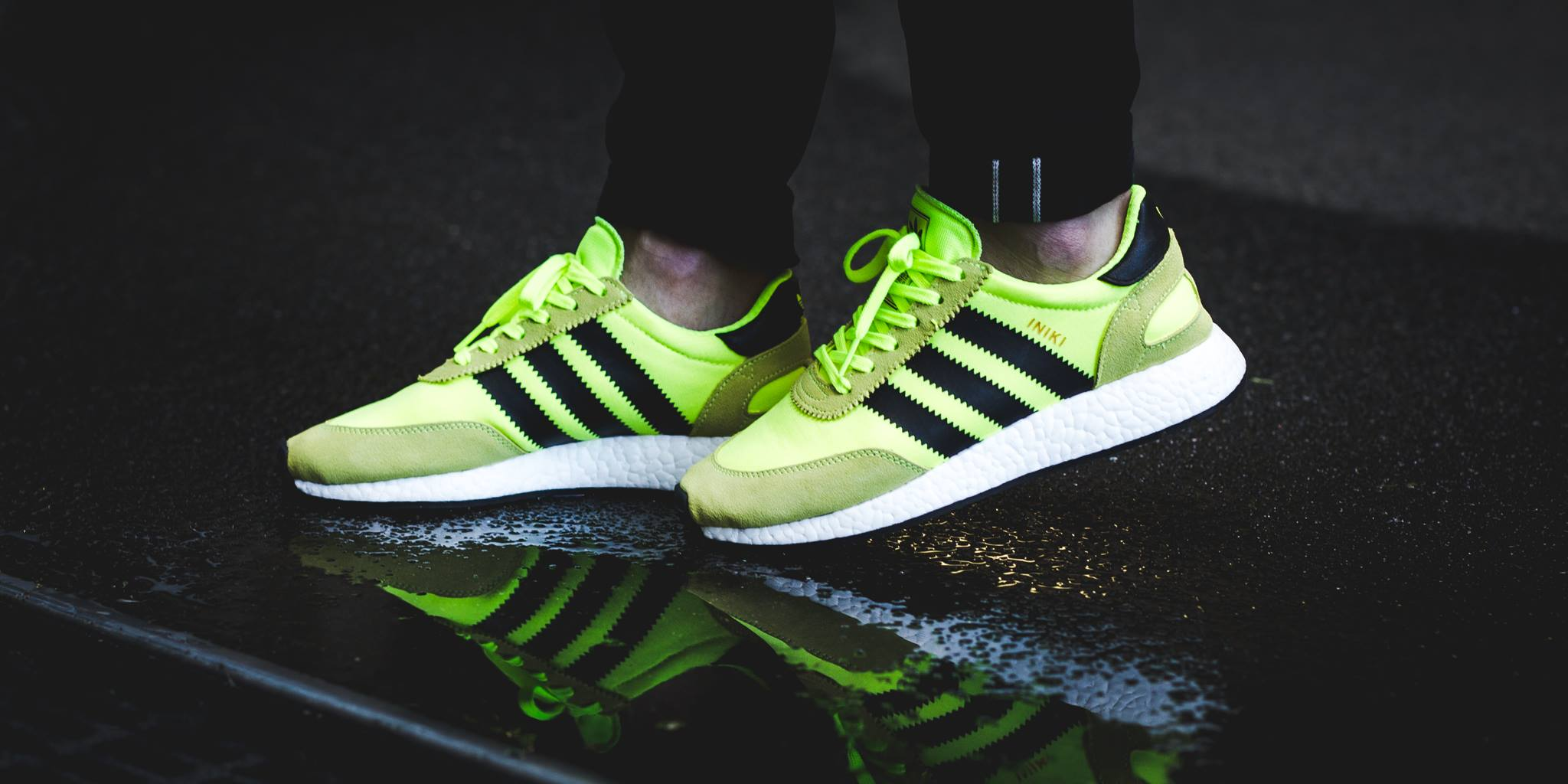 check out 4a251 9aa38 adidas Originals will be releasing the Iniki Runner in a Solar Yellow  colorway for the summer. Decked out in an eye-catching Solar tone, the adidas  Iniki ...
