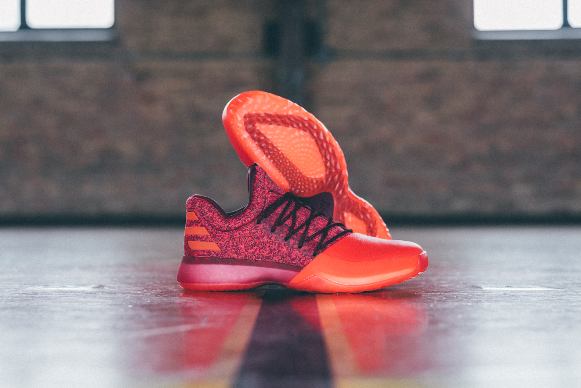 2cd26f6e446 ... the latest chapter of Harden Vol. – Red Glare. The new colorway features  a vibrant leather toe shroud with a knit upper and matching accents  designed in ...