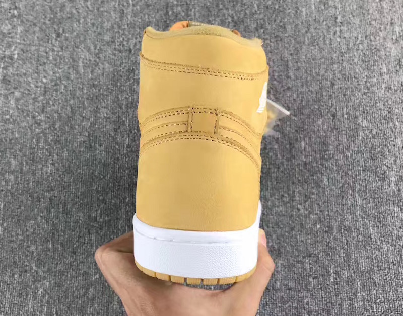 "369f81065a715d Air Jordan 1 Retro High OG ""Wheat"" Elemental Gold Gum Yellow-White  555088-710. November 2017  160"