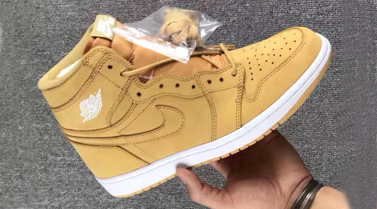 c8b881f87eb1f4 Jordan Brand will be releasing a wheat inspired Air Jordan 1 colorway for  the fall season come November 2017. The timb-esque Air Jordan 1 will  feature a ...