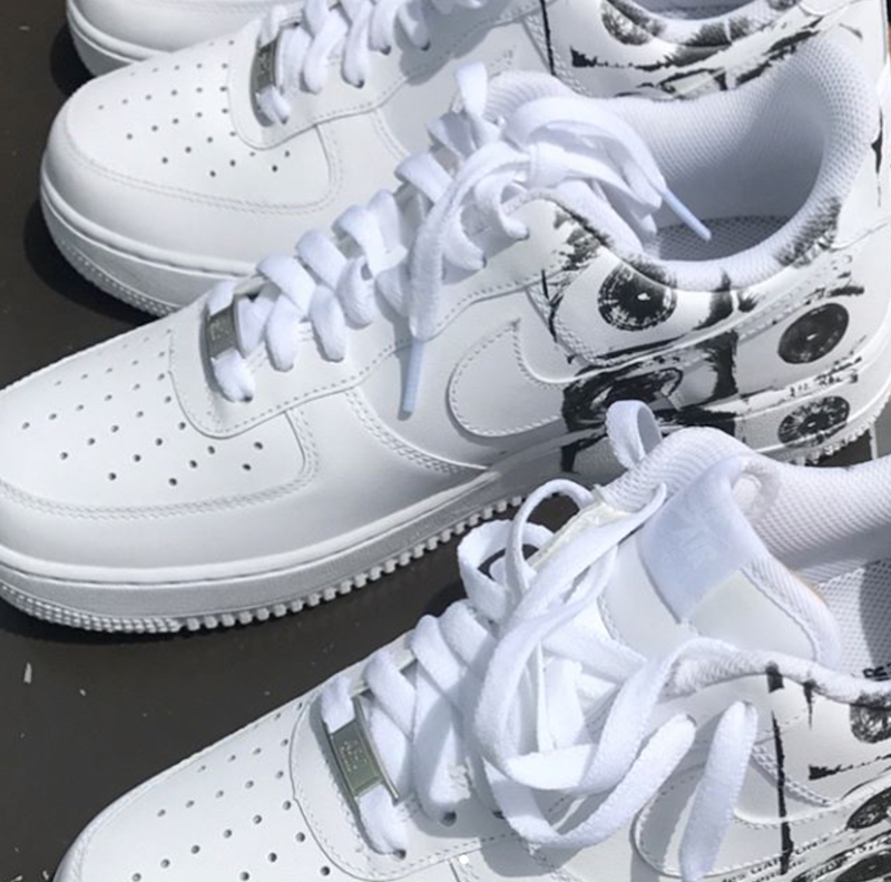 886c467b5bbc The Air Force 1 features a simple look of black and white, with dilated eye  patterns on the heel. Look out for these to release next May at NSW  retailers ...