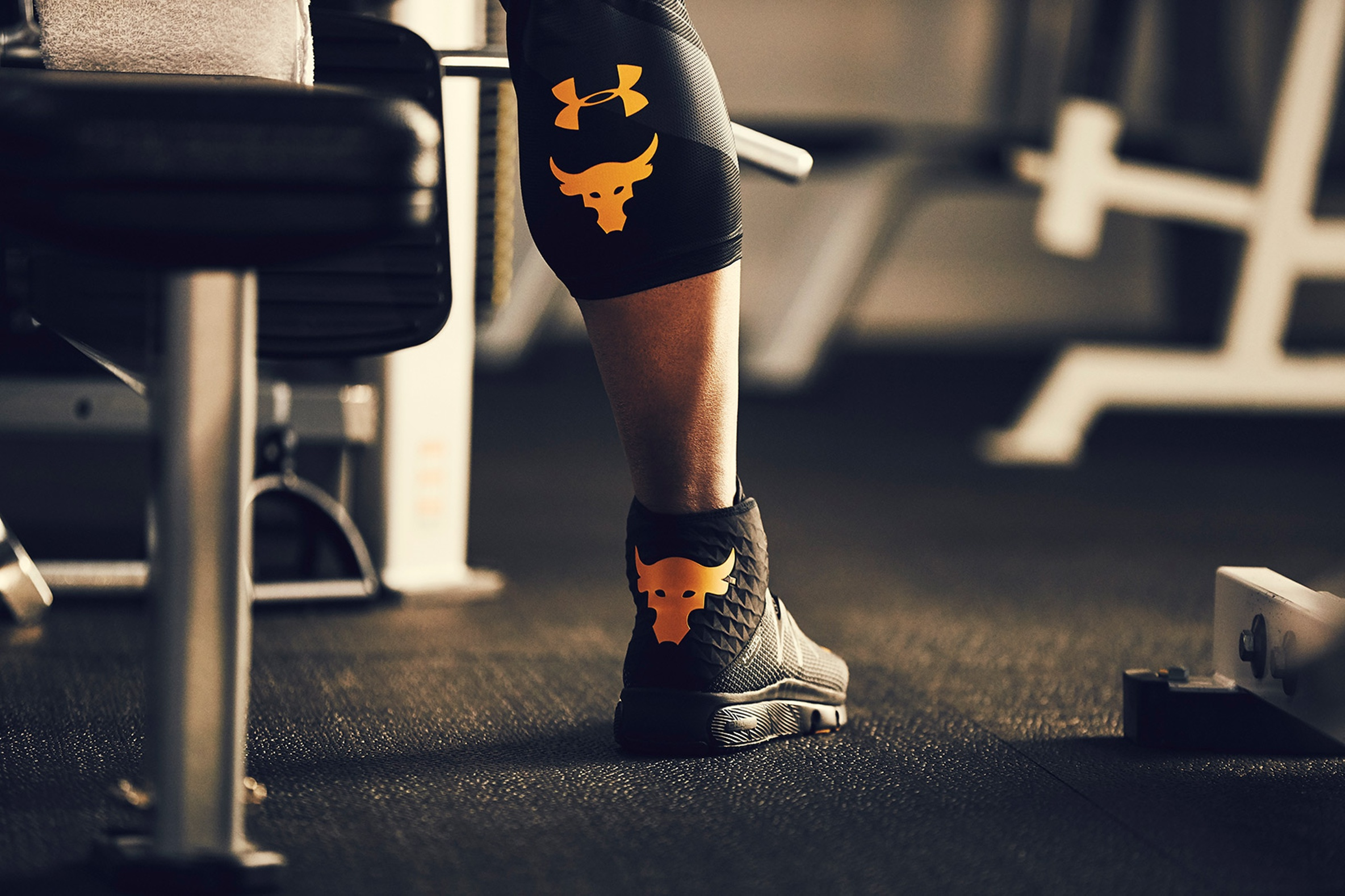 Under Armour x The Rock Sneaker