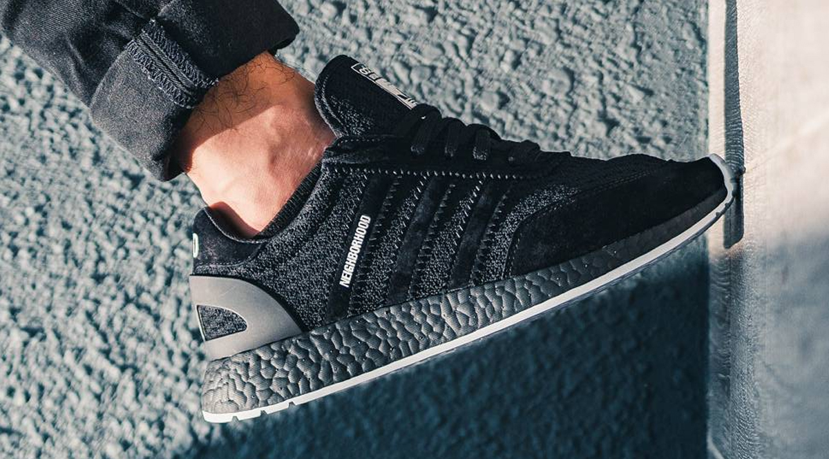 new arrival 446f0 51c34 Japanese brand Neighborhood will be collaborating with Adidas Originals on  an an Iniki runner that features a full on Primeknit upper. The Black and  White ...