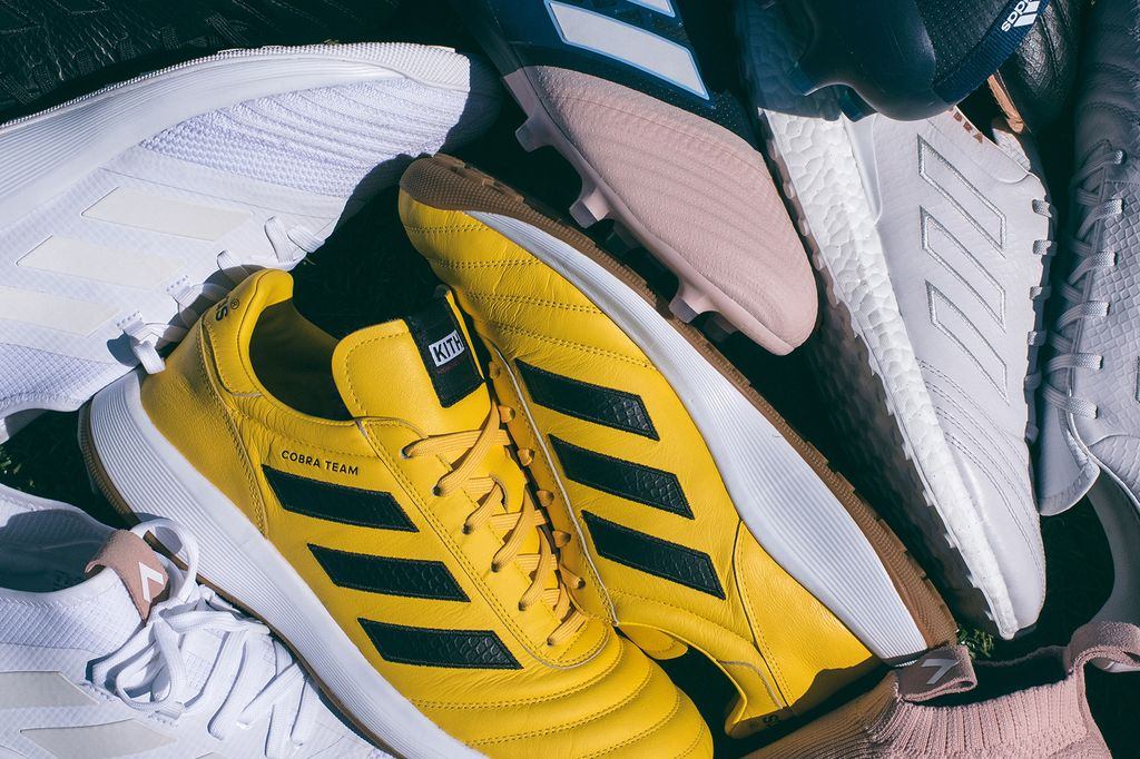 d304d9cb0e5f9 KITH and Ronnie Fieg set forth a soccer inspired collection that will  consist of a handful of footwear and kits that represent the KITH Cobras  and KITH ...