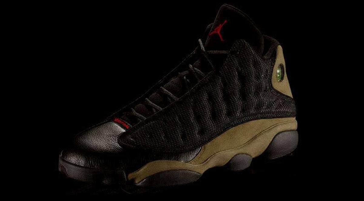 "170d933ba930 Remember this Air Jordan 13 ""Olive"" photoshop from eons ago  Looks like  Jordan Brand is finally listening to it s fans and are releasing this Air  Jordan 13 ..."