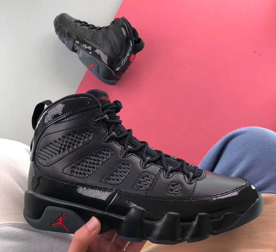 "wholesale dealer fde21 610bf Jordan Brand will be giving the Air Jordan 9 a ""Bred"" take in January of  2018. The Air Jordan that released when Michael Jordan left the NBA to  pursue ..."