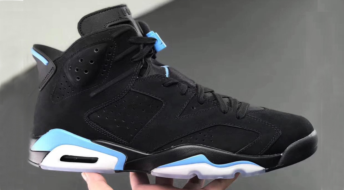 07d821e2f688 Jordan Brand is gearing up a UNC inspired Air Jordan 6 colorway for the  upcoming Air Jordan holiday line up. The Air Jordan 6 UNC will feature a  black upper ...
