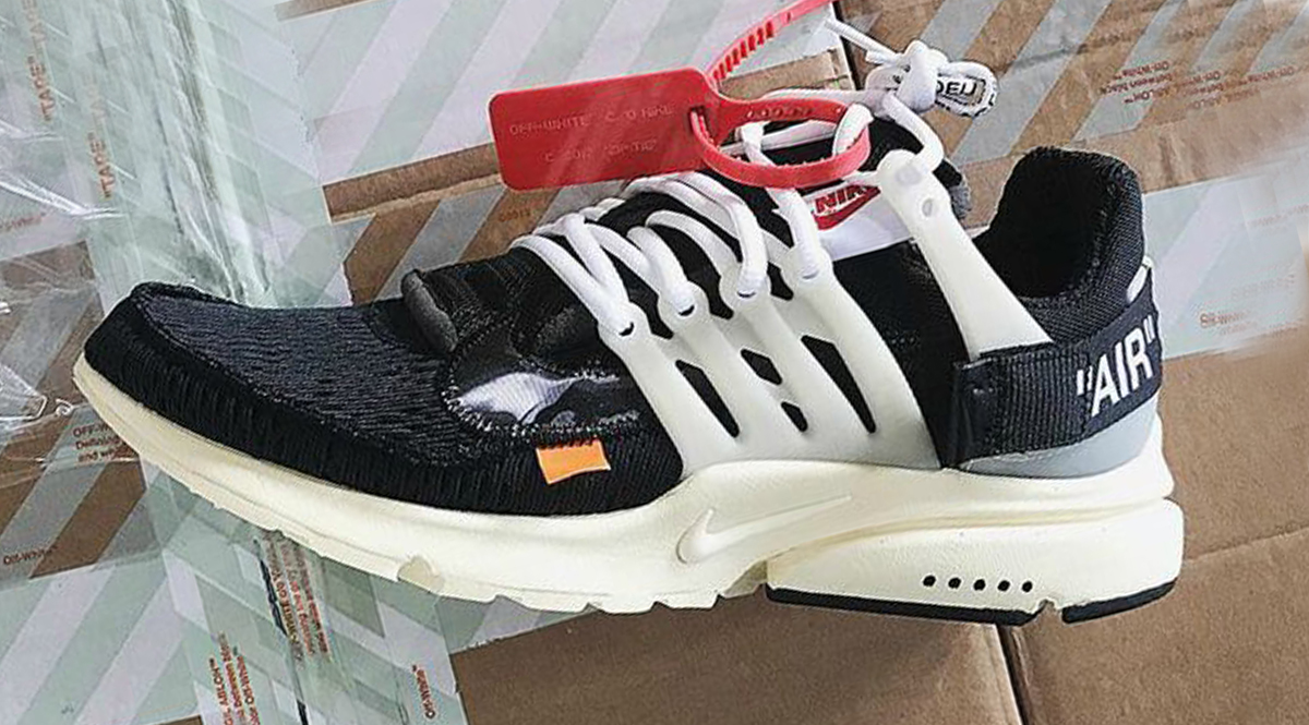 nike x off white presto. nike sportswear and virgil abloh linked to create \u201cthe 10\u201d, a series of 10 sneakers that will include the blazer studio mid, cortez ultra, x off white presto m