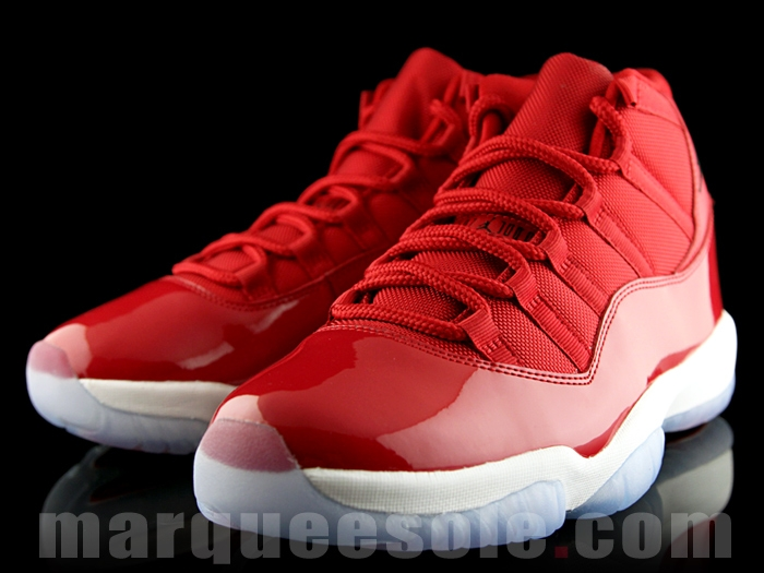 """7df4a884c4c08 Air Jordan 11 """"Gym Red"""" Color  Gym Red Black-White Style Code  378037-623.  Release Date  December 9"""