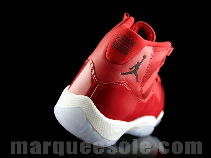"""13d91318da9c Air Jordan 11 """"Gym Red"""" Color  Gym Red Black-White Style Code  378037-623.  Release Date  December 9"""