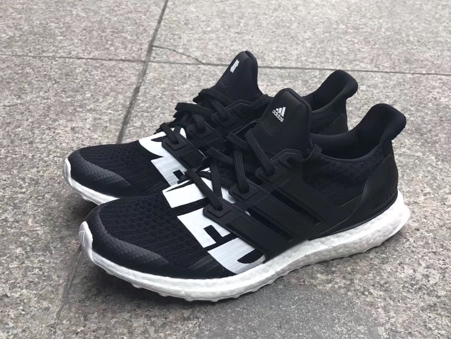promo code c37b2 fa6dd UNDFTD will be collaborating with adidas running on a black and white Ultra  Boost for the first quarter of 2018. The Ultra Boost collab offers a yin  and ...