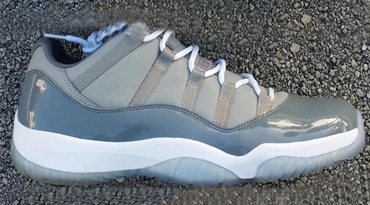 """d5721ca3bb7b7f Jordan Brand will be releasing an Air Jordan 11 """"Cool Grey"""" Low for April  2018. It s been awhile since Jordan Brand considered an Air Jordan 11 drop  for the ..."""