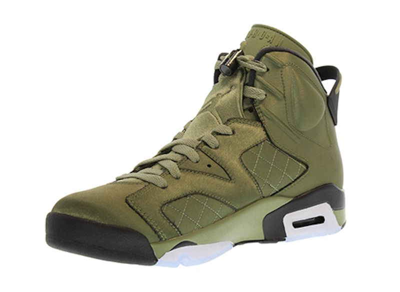 "... Air Jordan 6 Pinnacle ""Promo Jacket"" Color Palm GreenPalm Green-Black  Style Code ... 38683958a"