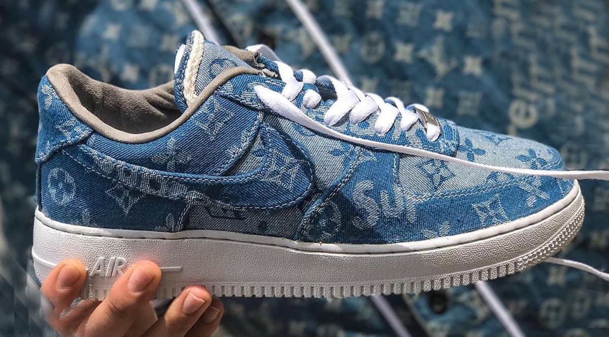 nike air force 1 supreme x louis vuitton