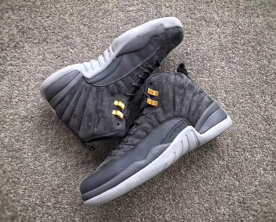 efc3fe4b3e0ca Jordan Brand will be releasing a Dark Grey version of the Air Jordan 12  this Fall season, featuring a combination of suede and leather.